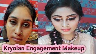 Kryolan Engagement Makeup Tutorial #Kryolan Supra Engagement Makeup#Best Engagement Makeup 2020