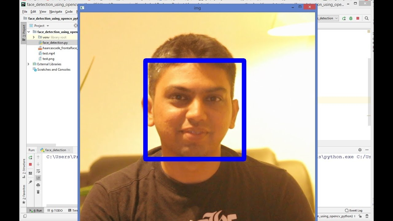 OpenCV Python Tutorial For Beginners 35 - Face Detection using Haar Cascade  Classifiers