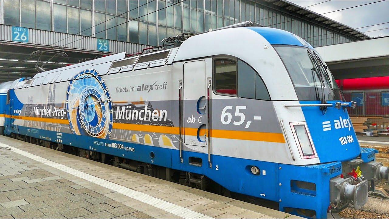 Alex München Prag Fahrplan