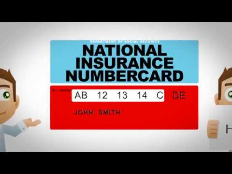 National Insurance Number Registration