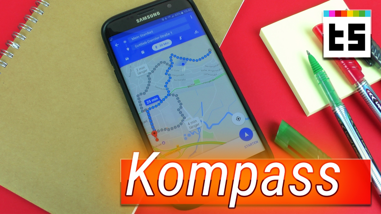 Google maps kompass kalibrieren