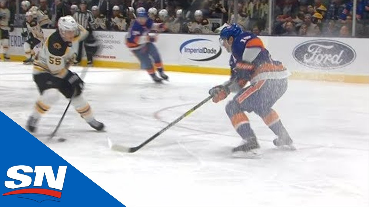 Cal Clutterbuck's Brutal Turnover Leads To Easy Goal For Noel Acciari