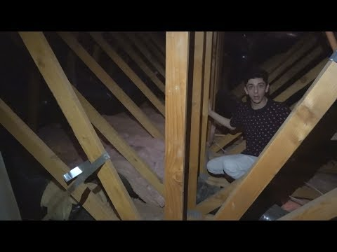 WE EXPLORED THE ATTIC AND FOUND THIS... (wtf)