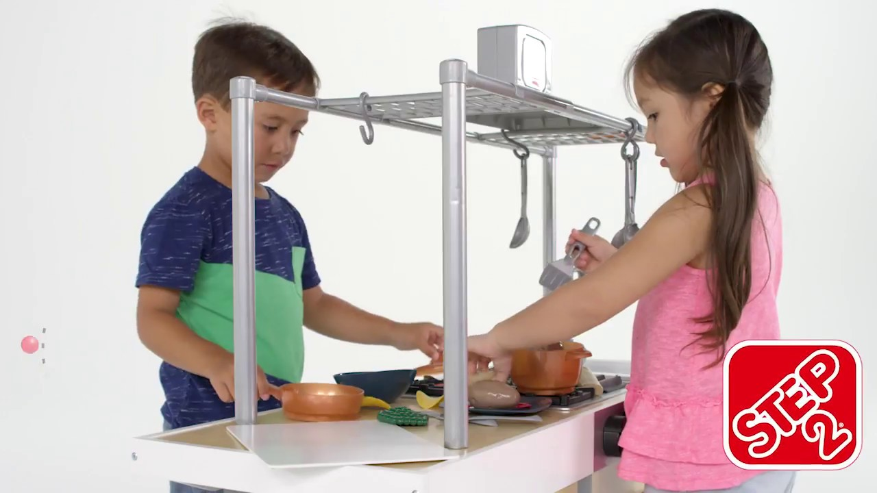 Uptown Urban Wood Kitchen & Island™ - YouTube
