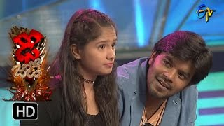 Funny Task | Dhee Jodi | 10th May 2017 | ETV Telugu