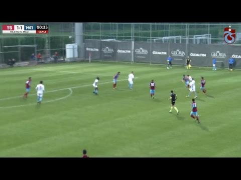 Trabzonspor -  1461 Trabzon hazırlık maçı