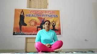 Yoga for Health Fitness ( સલભાસન )