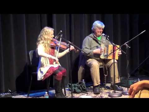 John Whelan and Haley playing reels