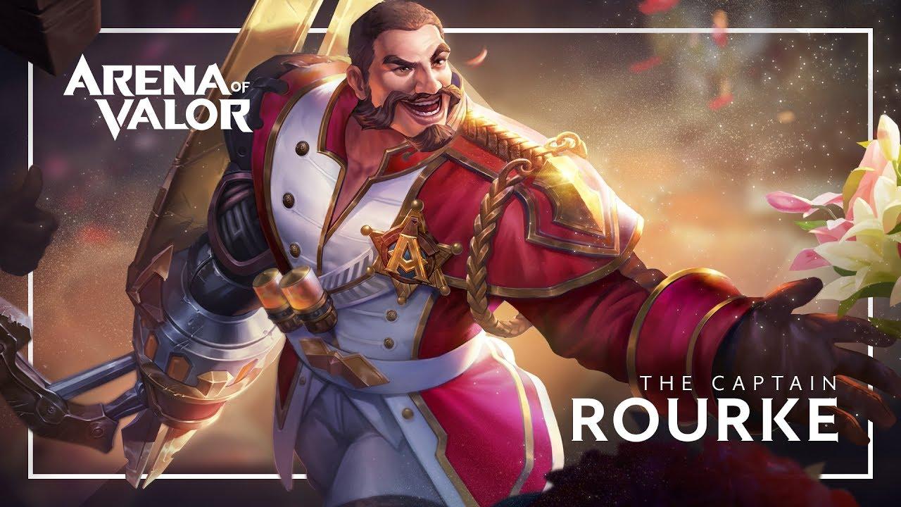 Hero Spotlight Rourke Gameplay Arena Of Valor Youtube