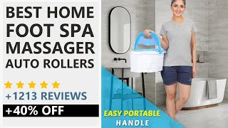 Best Foot Spa Massager With Auto Rollers India 2019 Amazon