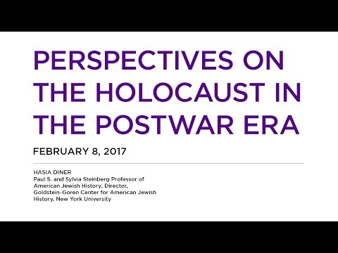 Perspectives on the Holocaust in the Postwar Era