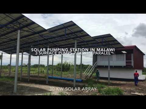SOLAR PUMPING IN MALAWI