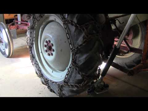 how to install tractor tire chains how to save money and do it yourself. Black Bedroom Furniture Sets. Home Design Ideas