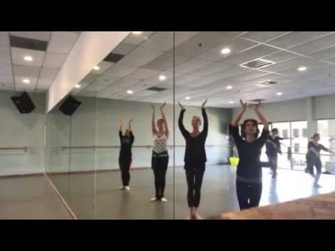 Simple gifts with trio and spin around circle