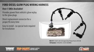Dorman 904-411 Diesel Glow Plug Wiring Harness