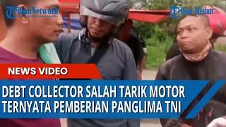 VIRAL Debt Collector Salah Ambil Sepeda Motor, Ternyata Milik TNI Pemberian Panglima, Endingnya Lucu