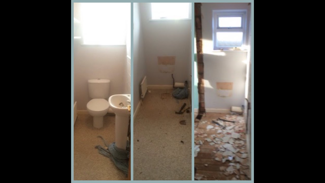 Bathroom With Separate Toilet Changed To En Suite Youtube