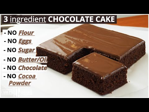 3-ingredient-chocolate-cake-!-lock-down-cake-recipe!