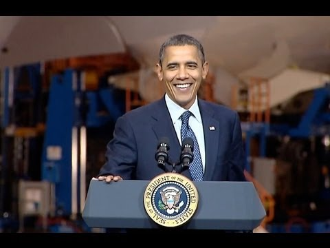 President Obama Speaks On Promoting American Manufacturing and Exports
