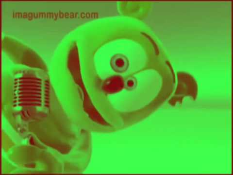 green color red gummy bear song red and green color gummibr video youtube