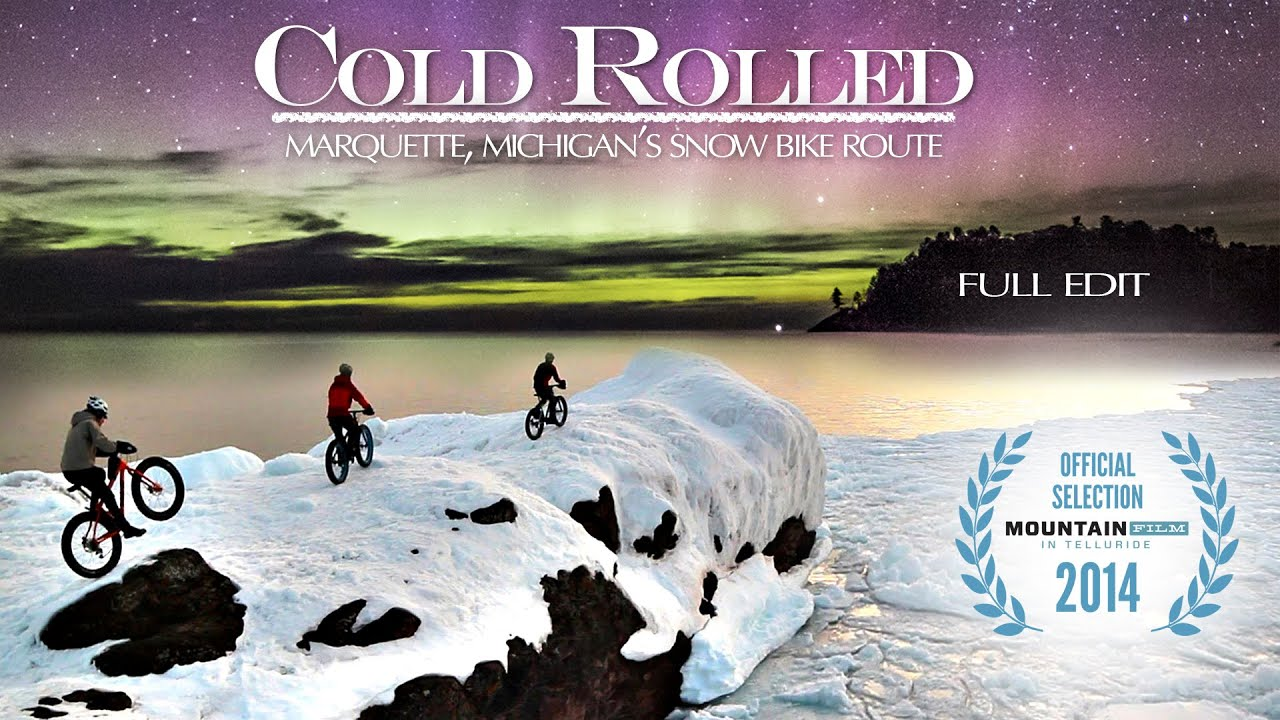 Cold rolled fat bike snow biking marquette michigan youtube sciox Image collections