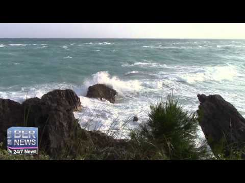 Hurricane Gonzalo Approaches Bermuda, October 16 2014