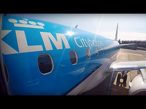 FLIGHT REPORT / BUSINESS CLASS KLM EMBRAER 175 / OSLO - AMSTERDAM