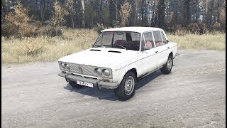 Lada 2103 - Spintires Mudrunner mod Review
