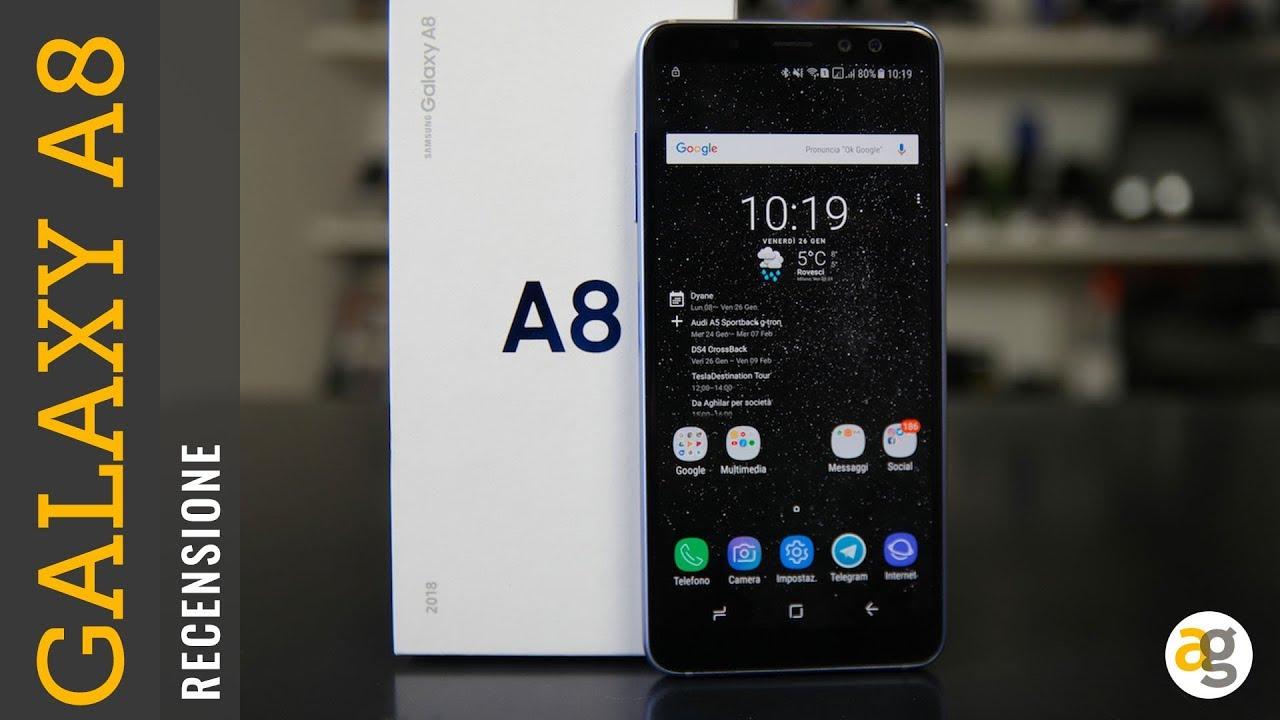 Recensione Samsung Galaxy A8 Youtube