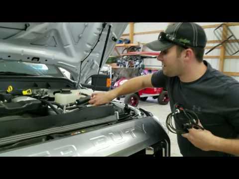 2011 - 2016 Ford F250 6.7L Powerstroke - 22200 Module Installation
