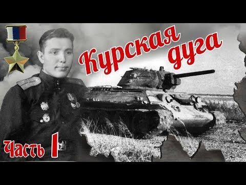 Учеба. Курская дуга. Встреча с захваченным немцами Т-34. Из воспоминаний Фадина А. М. Часть 1