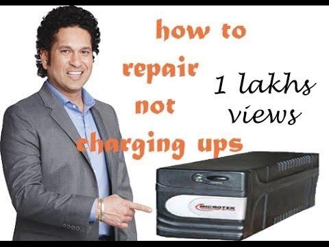 how to repair ups not charging