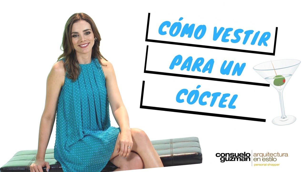 c64dc84ea Cómo Vestir Para Un Cóctel - YouTube