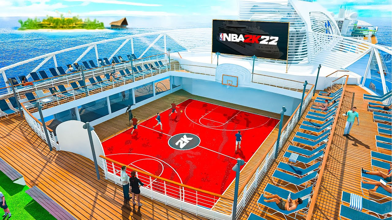 NBA 2K22 PARK & GAMEPLAY REVEALED!! THE CITY RETURNS + CRUISE SHIP PARK FEATURE INTRODUCED