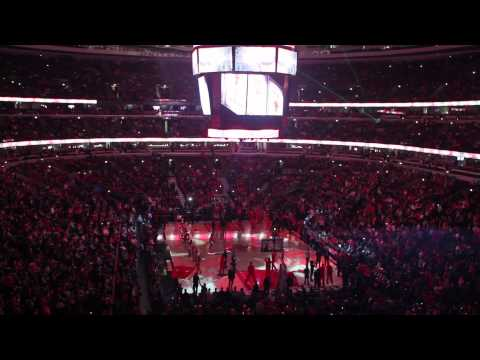 Chicago Bulls 2012 Introductions