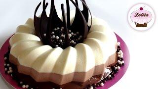 Receta de tarta de 3 chocolates paso a paso | Tarta de chocolate | Postre con chocolate