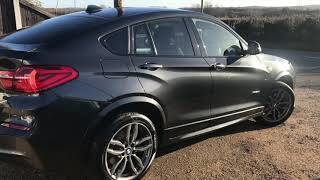 2016 BMW X4 2.0 XDRIVE20D M SPORT FOR SALE | CAR REVIEW VLOG