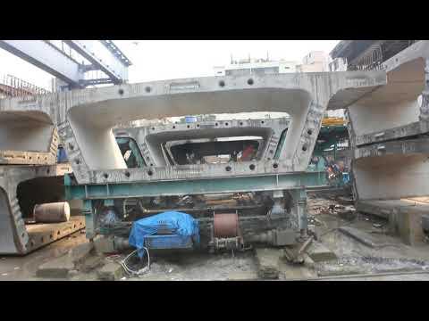Padma Link road (N8) Pre-Cast Box Segment Working Process.