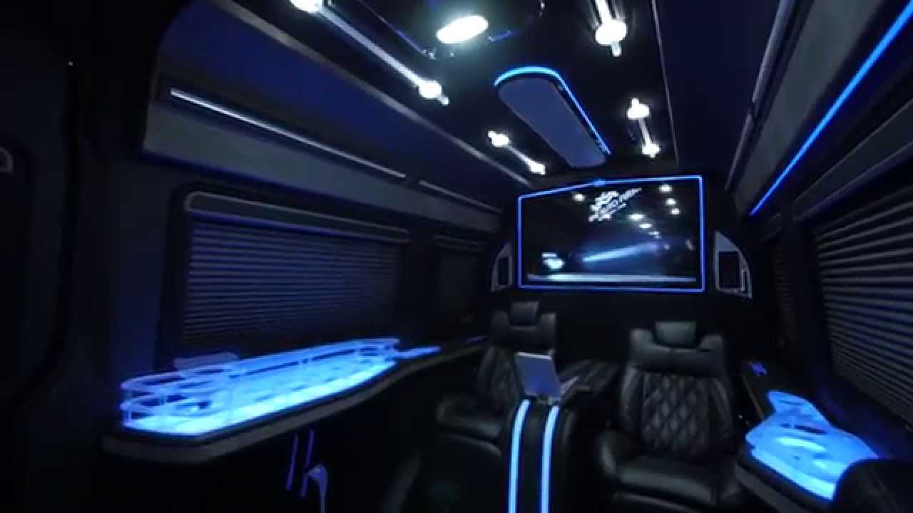 Avorza mercedes benz sprinter limo van by alex vega done for Mercedes benz junk yards miami