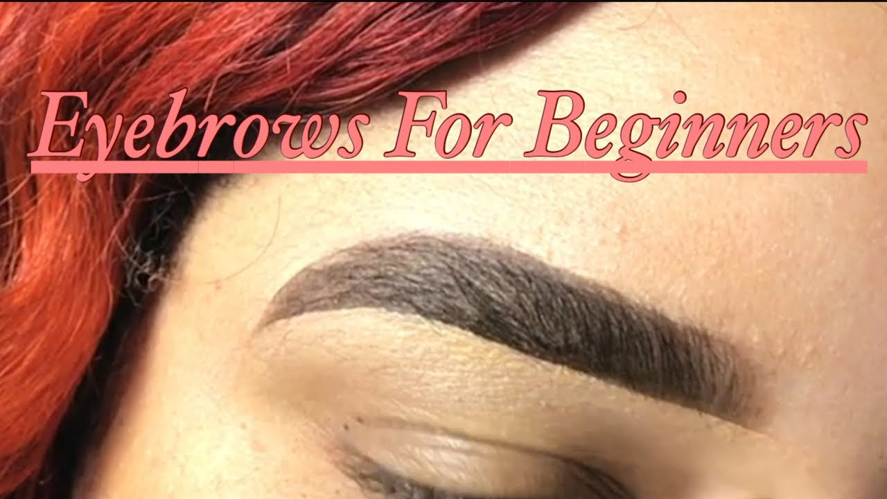Step By Step Eyebrow Pencil Tutorial For Beginners - YouTube