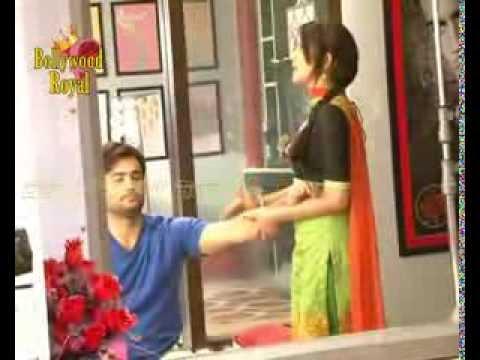 On Location Of TV Serial 'Madhubala'  Madhu Taking Care Of RK Part-1