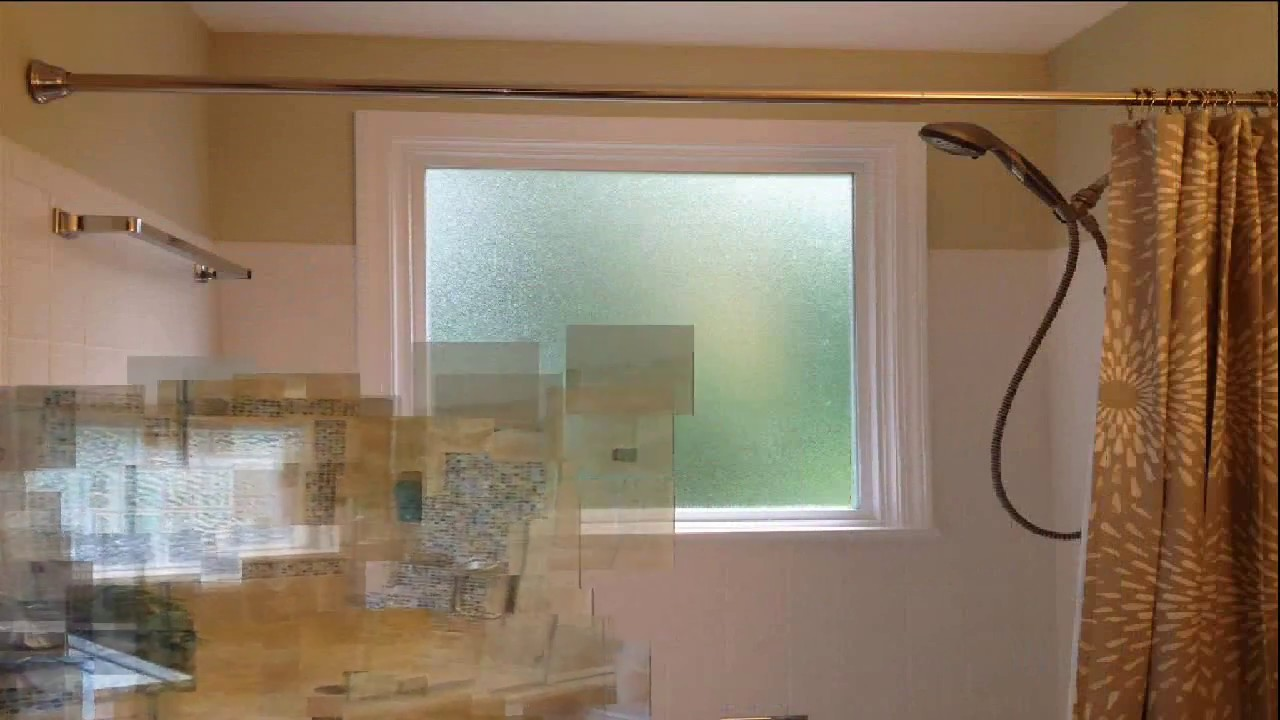 Bathroom Remodel With Window In Shower Youtube