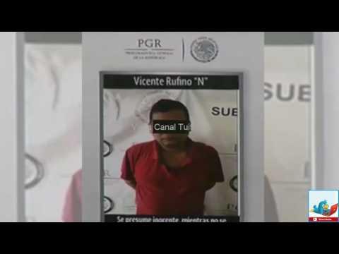 Detienen a Vicente Carrillo Salmerón líder del Cártel del Golfo Video Captura