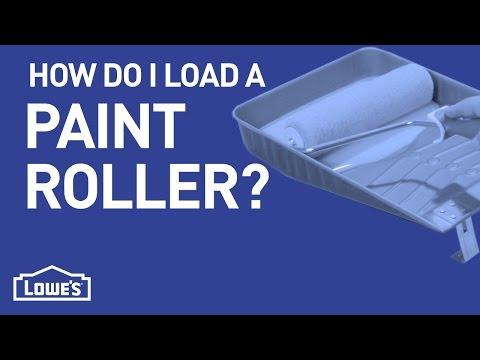 How Do I Load a Paint Roller? | DIY Basics