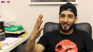QAIS ASHFAQ ON SPARRING DAY: THE MENTAL SIDE OF THE GAME, BOXING NUTRITION, FIGHT DATE MAY 4TH
