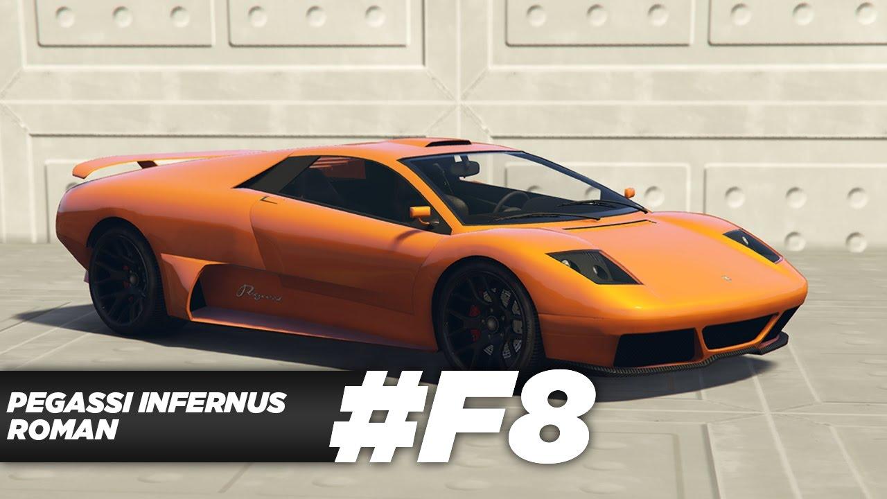 Gta 5 Online Fast Furious 8 2016 Lamborghini Murcielago