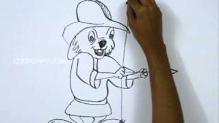 How to Draw Robin Hood Skippy