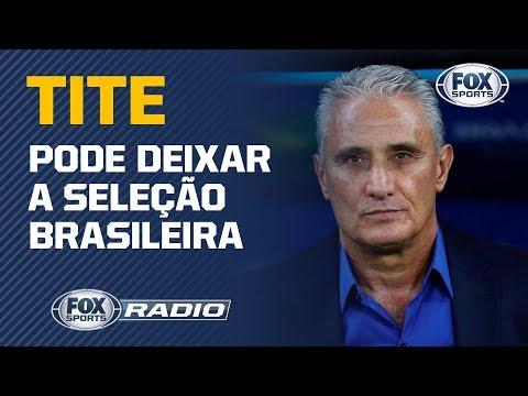 INSATISFEITO? Jornalista diz que Tite pode deixar a Seleção brasileira