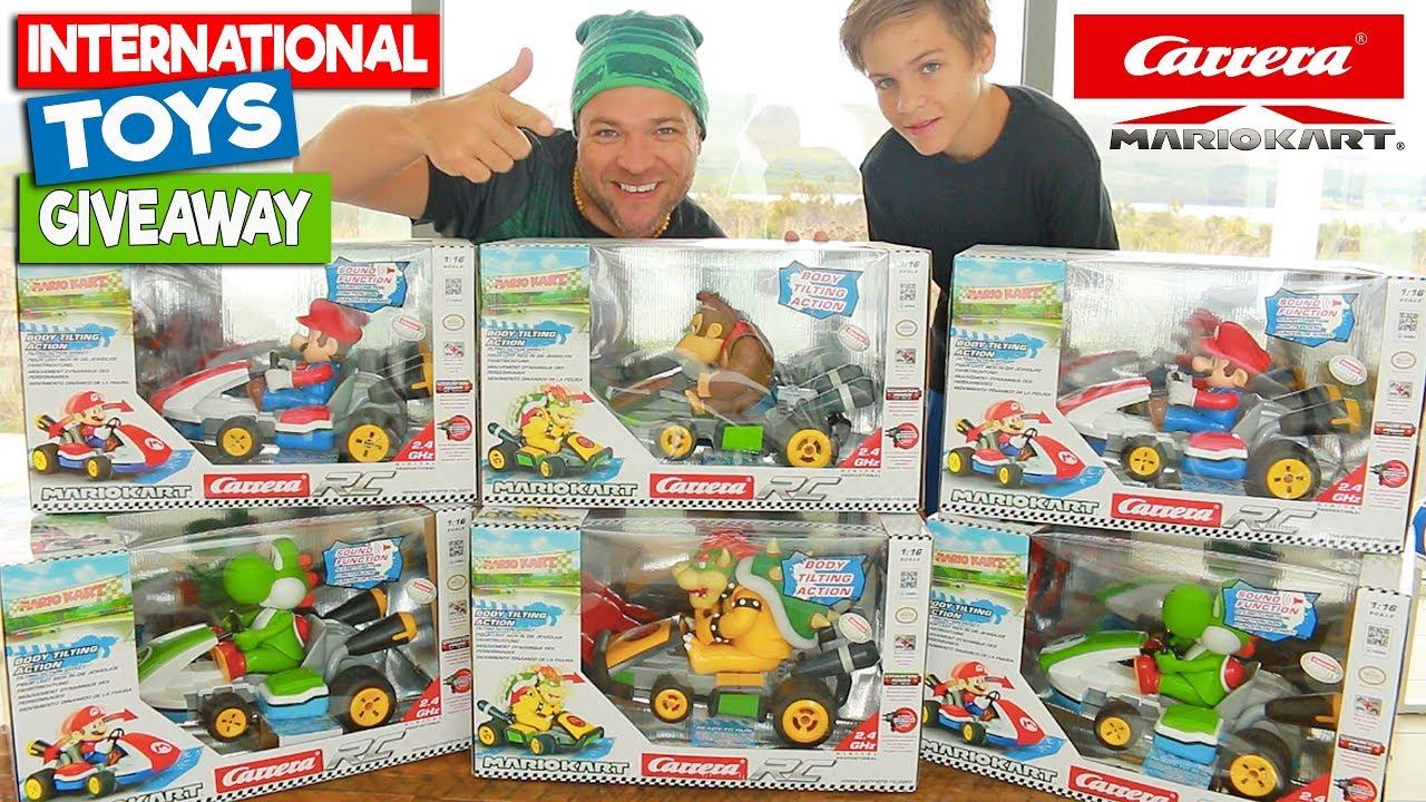 Christmas Giveaways 2019.Top Toys 2019 Carrera Mario Kart Rc 12 Days Of Christmas Giveaways