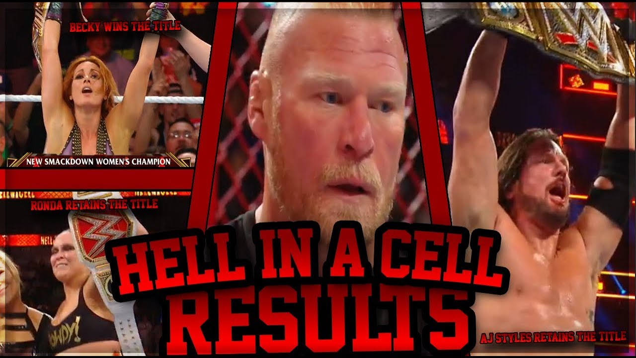 WWE Hell In A Cell 2018 Results: News And Notes After Brock Lesnar Returns